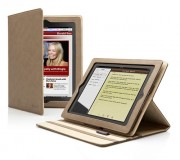 Cygnett Lavish Earth Folio Stand Case for iPad 2 - Brown
