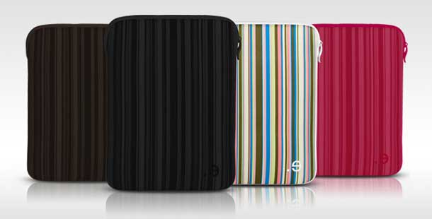 iPad 2 sleeve case LA robe Allure by be-ez