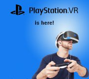 Find the new PlayStation VR at eoutlet.co.uk
